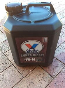 Valvoline Super Diesel Oil 15W40 Annandale Leichhardt Area Preview