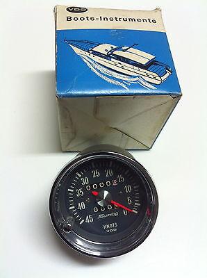 VDO SUMLOG  OLDTIMER  Knotenmesser Logge Geschwindigkeitsmesser