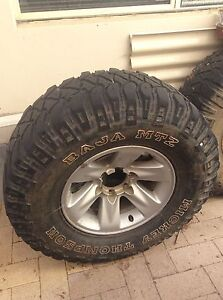 Nissan Patrol rims and tyres Ashby Wanneroo Area Preview