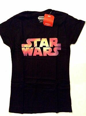 Womens / Ladies Official Disney 'Star Wars' T-shirts, - Star Wars Womens T Shirts