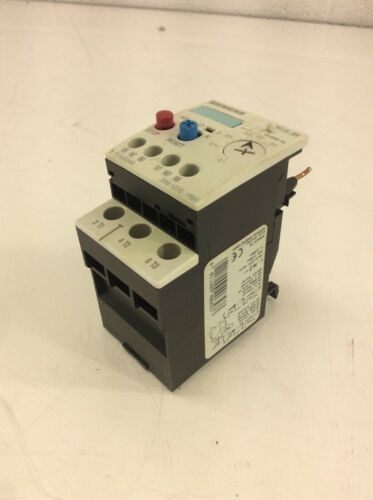 Siemens Sirius 3R Overload Relay, 3RB1026-1RB0, 0.1-0.4 A, Used, WARRANTY