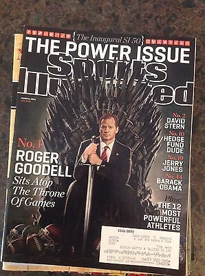 March 11  2013 Roger Goodell Nfl Commissioner Game Of Thrones Sports Illustrated