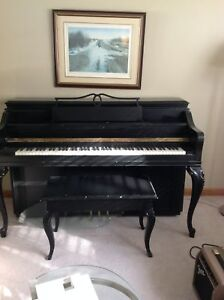 Mason and Risch Piano and Bench