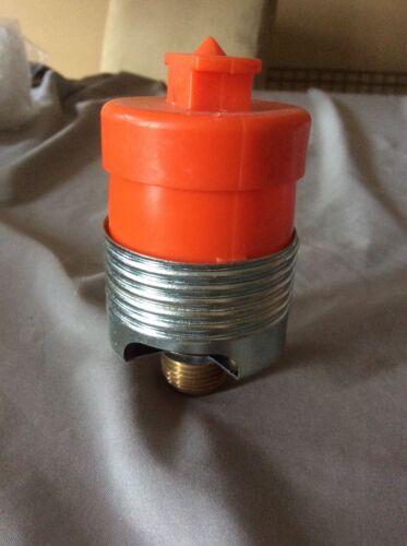 """Viking VK462 Brass Concealed Pendant Sprinkler Head 155* F 1/2"""" NPT"""