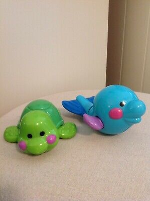 Fisher-Price Amazing Animals Tubtime - TURTLE & DOLPHIN