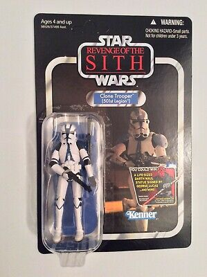 Star Wars Clone Trooper 501st Legion Vintage Collection VC60 - ROTS (Unpunched)