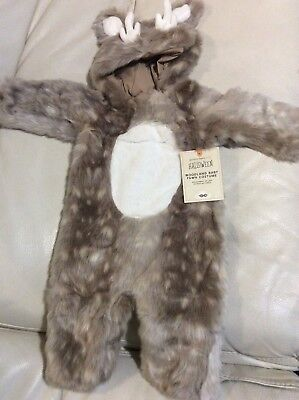 Pottery Barn Kids Baby Woodland Fawn Deer Halloween Costume 12-24 NWT Fast Ship - Baby Fawn Halloween Costume