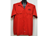 LIVE THE LEGEND MADE IN THE USA VINTAGE WORK SHIRT DICKIES BUTTON UP GARAGE