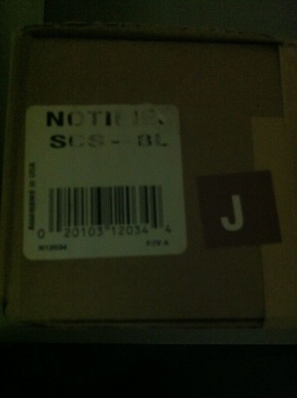 """NOTIFIER SCS-8L  """"NEW"""""""