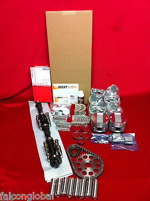 Cadillac 390 MASTER Engine Kit Pistons+MOLY Rings+ISKY 262H Cam+Fel Pro 1959-62