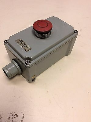Idec / Izumi Control Box Emergency Stop Control Panel, Type AGA, Used, Warranty