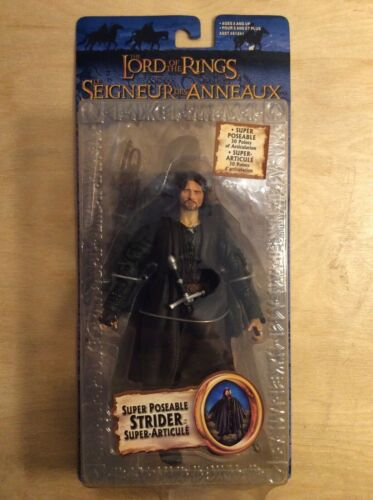 Rare Exclusive Series Super Poseable Strider Lord of the Rings Action Figure