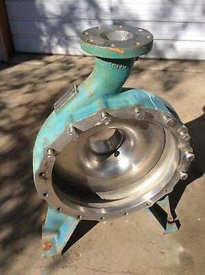 Warren Centrifugal Pump Housing 6 X 4 X 20 B407a3 316 Stainless Steel
