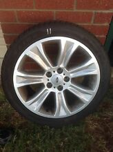 Ref 11 ford ba BF FG 245/40/18 rims and tyres Kelmscott Armadale Area Preview