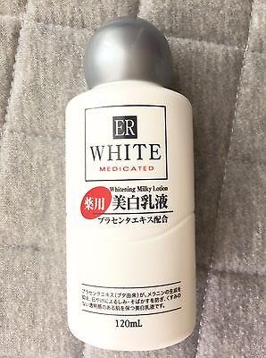 DAISO JAPAN ER White Medicated Whitening Milky Lotion 120ml F/S From Japan