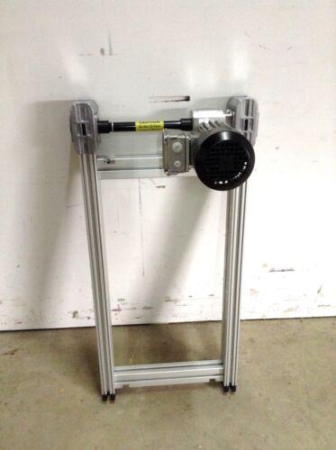 Bosch Rexroth 3842999716 Conveyor Belt Section w/ 3842547992 Drive Motor