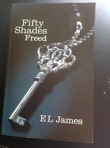 Fifty Shades of Grey- Freed. GC. Nic's books Chadstone Monash Area Preview