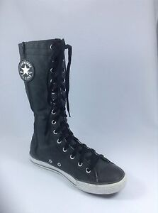 Converse-Womens-Shoes-Sneakers-All-Star-Chuck-Taylor-Gray-XX-Hi-Knee-Size-US-6