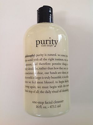 Philosophy Purity Made Simple one-step facial cleanser 16 oz. Sealed