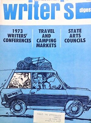 - Writer's Digest Magazine Travel And Camping Markets May 1973 100517NONRH2
