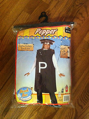 Snack bar costumes tunic hat pepper one size halloween dress up play fashion ](Halloween Fun Snacks)