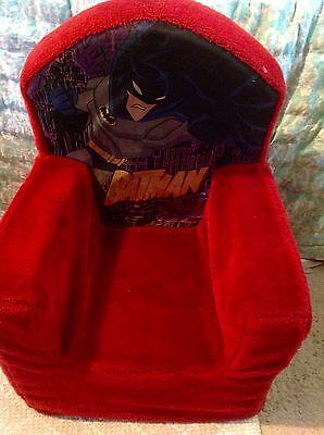 VtG Batman Animated Spin Master Super Soft Plush Chair Furniture *RARE* (Batman Chair)