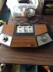 Vintage Electronic Sears Pong Console