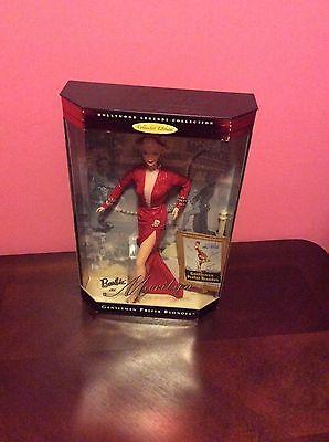 BARBIE as Marilyn Monroe doll Gentlemen Prefer Blondes red 1997 Mattel New NRFB
