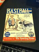 Sporting News Baseball Guide 1960