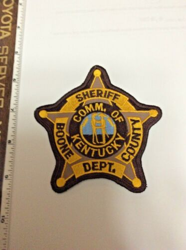Boone County Kentucky Sheriff Police Shoulder Patch New