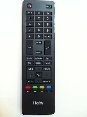New HAIER LCD LED TV Remote HTR-A18M For LE24M600M80 LE39M600M80 LE48M600M80 TV for sale  Chino