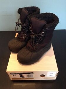 Kids size 12 winter boots Sorel Cumberland great cond. $20