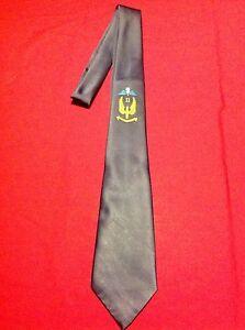 RAF Regiment II Squadron (Airborne) navy blue Tie