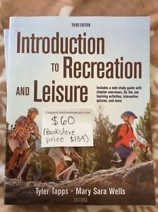 Introduction to Recreation and Leisure, 3rd ed.