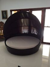 Outdoor Wicker Day Bed with Sun Shade Ascot Brisbane North East Preview