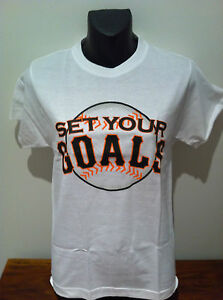 SET-YOUR-GOALS-T-SHIRT-California-10-NEW-OFFICIAL-MERCHANDISE-SIZE-Fitted-Medium