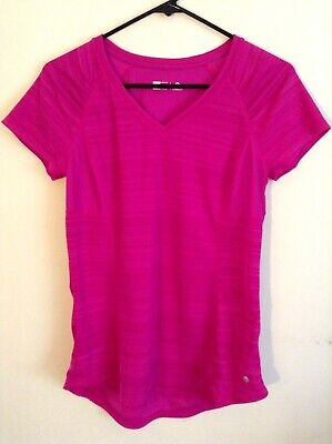 Xersion Women's Expanse Small Slim Fit Maroon Activewear Top (Rarely Worn)