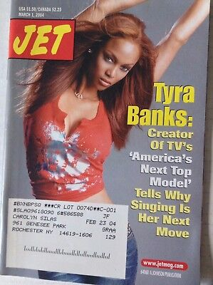 Jet Magazine Tyra Banks Antm March 1  2004 090817Nonrh