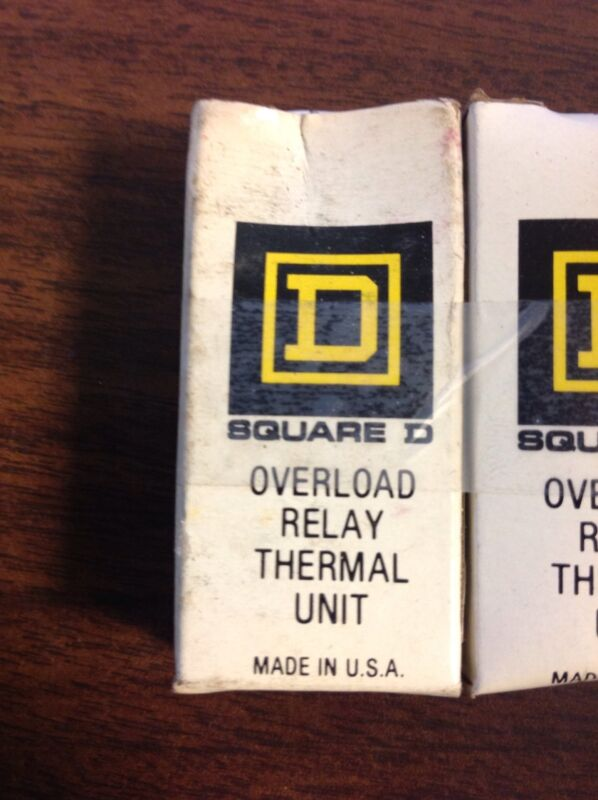 SQUARE D Overload Relay Thermal Unit B-79, B79