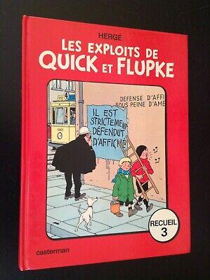 Les exploits de Quick et Flupke 1975 BE +