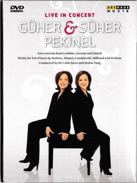 Güher & Süher Pekinel - Live In Concert / DVD / NEU+OVP-SEALED!