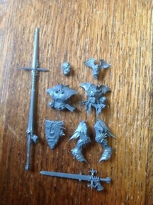 Warhammer. Undead Zombie Dragon Vampire Lord Rider Spares. Bits Box. Plastic