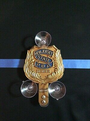 Police Shield Holder For Pba Fop Emt Fmba Fam Shields