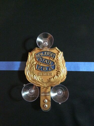 Police shield holder /PBA FOP EMT FMBA FAM