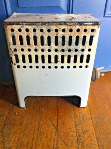 VINTAGE GAS SPACE room HEATER Works Bathroom