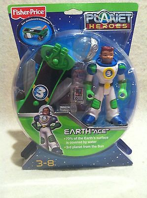 Fisher-Price Planet Hero Earth Ace! Factory Sealed!