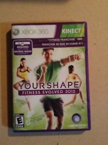 Xbox 360 game your shape fitness evolved 2012