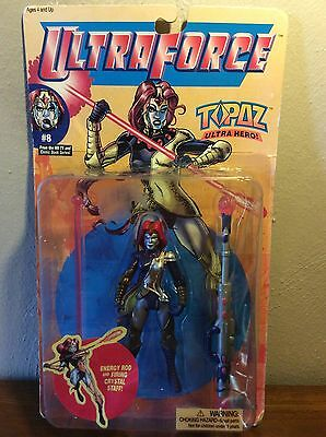 NIB Female Super Hero Action Figure Ultra Force Topaz Galoob - Super Hero Females