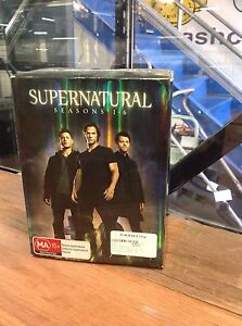 SUPERNATURAL SEASON 1-6 COMPLETE 35 DISK SET  Midland Swan Area Preview