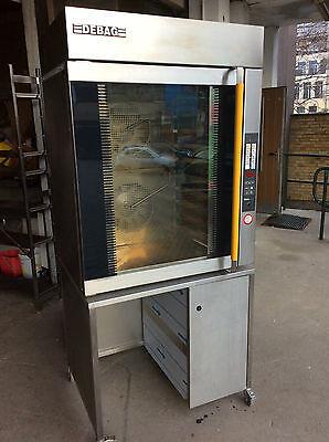 Debag Typ: DiLa 10  Backofen aus Edelstahl Baujahr 2009 für 10 Bleche